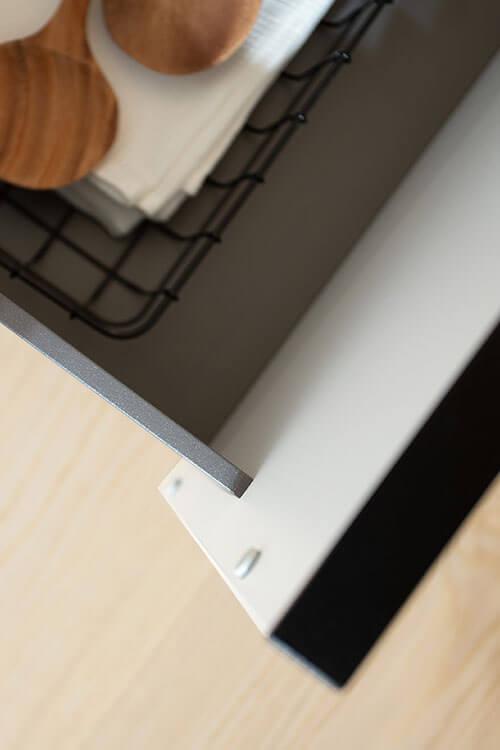 Slim Line Drawer für Vorräte